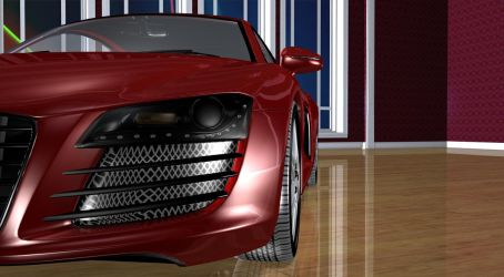 Audi R8-3 by TheRedCrown