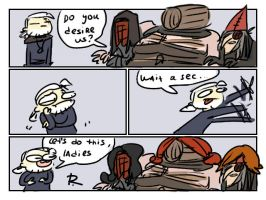 The Witcher 3, doodles 218 by Ayej