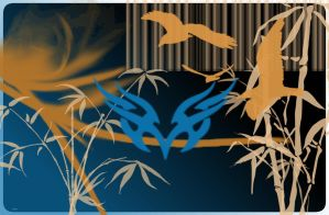 Bamboo And Birds by pokemoneg