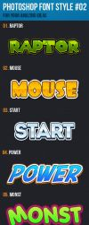 10 Font Style for Logo #02 by newdesigns