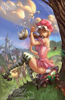 Little Miss Muffet by J-Scott-Campbell