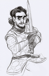 jon snow by thepacksurvives