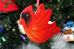 [ Christmas Stuffs ] Red Cardinal Ornament by Dreamsverse