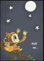 Chimchar want have the moon