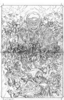 SUPERVILLAINS COVER small_pencils by roygbiv666