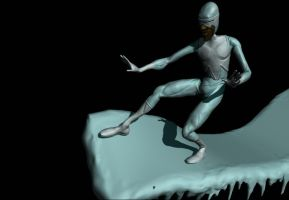 The Incredibles: Frozone Progress 2 by WilbertPierce
