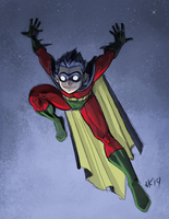 Robin by Hominids