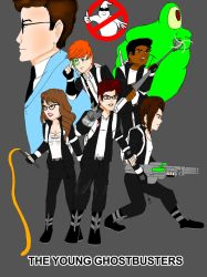 The Young Ghostbusters poster by GBMelendez23k