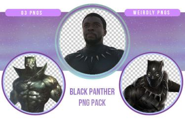 Black Panther PNG Pack by Weirdly-PNGS