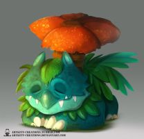 Kanto -  Venusaur by ArtKitt-Creations