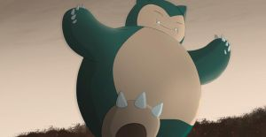 Commission: Snorlax by All0412