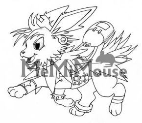 Jolteon Sketch by MeMiMouse