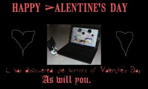 A Death Note Valentine by MoonSpider95