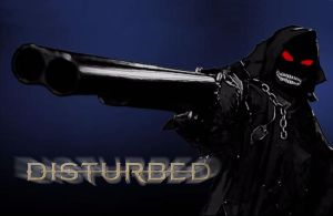 Disturbed Shotgun Wallpaper by DisturbedShifty