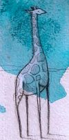 Giraffe-Blue by SethFitts