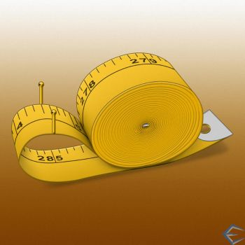 Tape Measure Snail by eriklectric