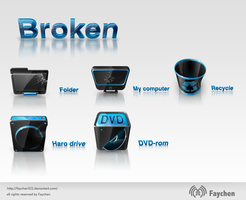 broken icons by Faychen521