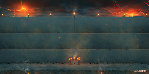 Game of throne The Wall fire version by jjfwh