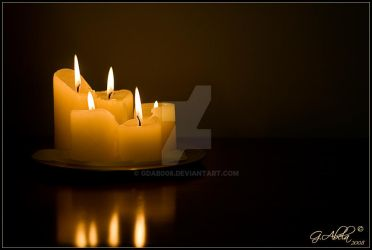 Candle light by gdab008
