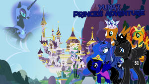 Yuna's Princess Adventure Poster by iamnater1225