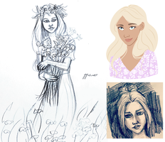 spring sketches by ggns
