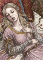 ACEO : Sleeping Beauty II by Achen089