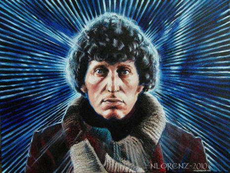 The Fourth Doctor - Tom Baker by napalmnacey
