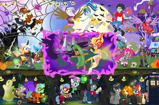 Oh what a Nightmare Night! by PixelKitties