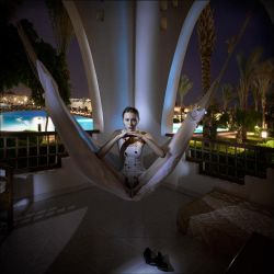 Evening portrait of princes N by photoport