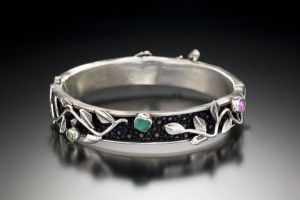 stingray bangle with clasp by Haley-winter