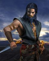 Daario Naharis by steamey
