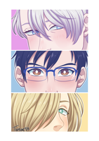 .YOI: The Podium Family. by Kikuri-Tan