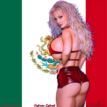 Mexico Loves Sabrina Sabrok By JY-KO-X by zenx007
