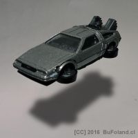 DeLorean from Back to The Future by Bufoland