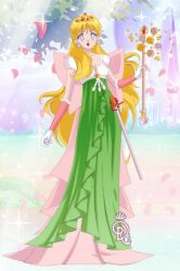 eico1234 Art Trade-Bell Princess by CrystalSailorMoon