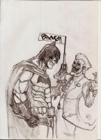 Batman v Joker by nic011
