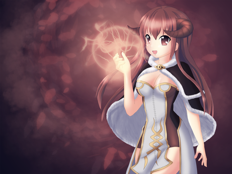 Full Image of my redrawn High Wizard (RO) by Mietzy