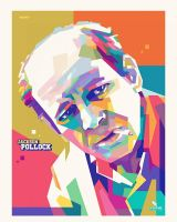 Jackson Pollock - WPAP  by opparudy
