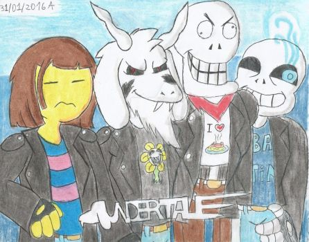 Undertale Undercode by CAPTAIN-CHETO