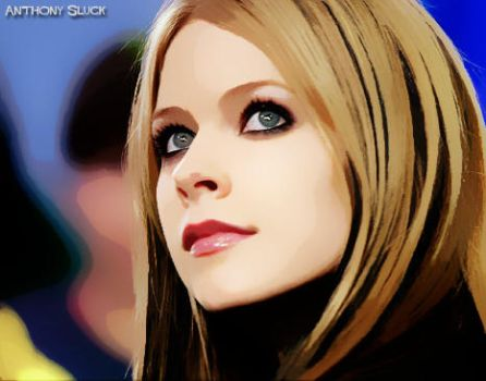 Avril Lavigne Vector Art by sluck7