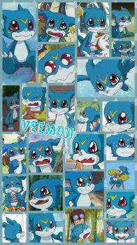 Veemon by PrincessEmerald7