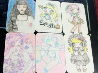 Some Misc ATCs by OphanimGothique