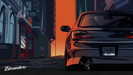 Nissan Silvia #Back S15 #EDCGRPHCS by edcgraphic