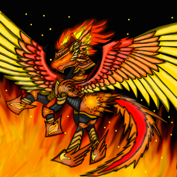 Alidonian Knight Helios Squadron Armor by Meteor-Strike-MLP