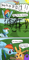 ...WHO'S Chuck Horse? by Daaberlicious