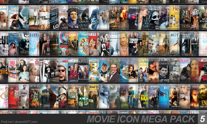 Movie Icon Mega Pack 5 by FirstLine1