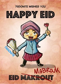 Happy Eid by Fidia95