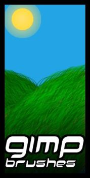 GIMP.Brushes::Grass by duskblue