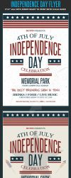 4th July / Independence Day Flyer by Hotpindesigns