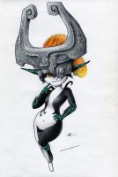 Midna by RobtheDoodler